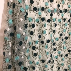 Anna Sui Dresses - Anna Sui Mums Embroidered Floral Dress NWT $350
